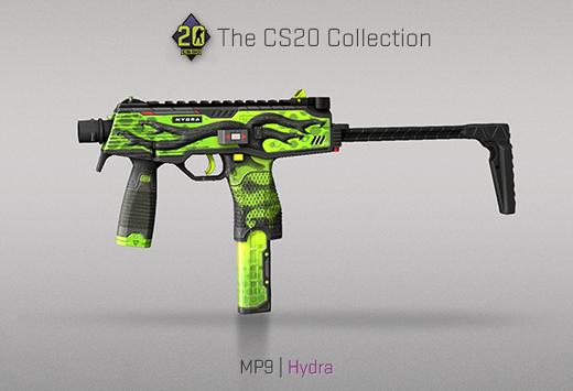 "Колекцията ""Counter-Strike 20"" — MP9 | Хидра | Hydra"