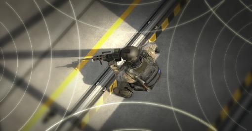 Примерна визуализация на звуковото позициониране в CS:GO