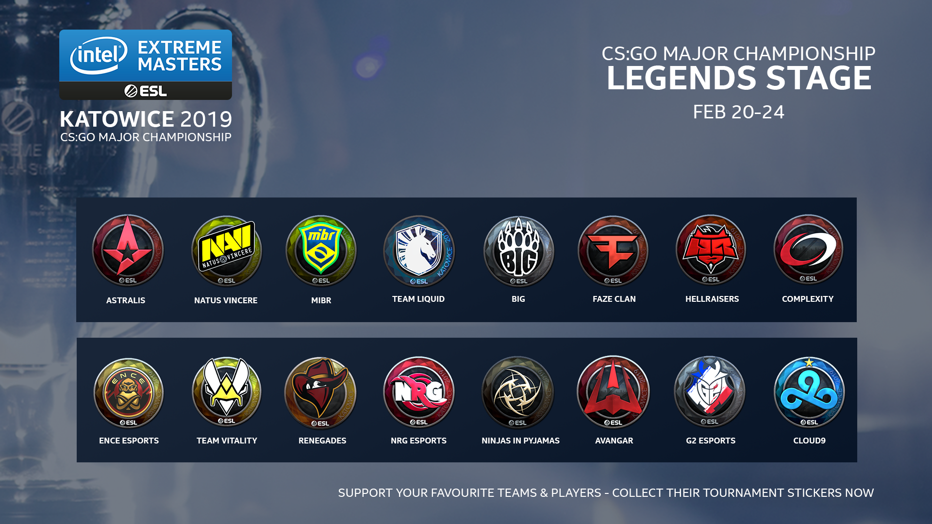Csgo New Operation 2020 Counter Strike: Global Offensive » The Second CS:GO Major of 2019