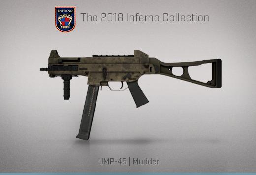 """Колекцията """"Inferno 2018"""" — UMP-45   Тиняк   Mudder"""
