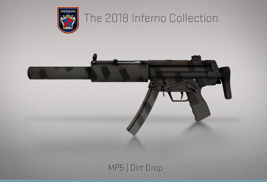 "Колекцията ""Inferno 2018"" — MP5   Калобран   Dirt Drop"