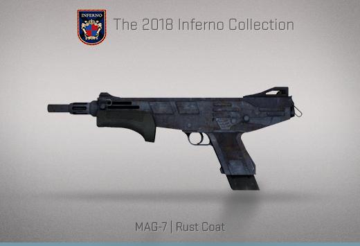 """Колекцията """"Inferno 2018"""" — MAG-7   Ръждиво покритие   Rust Coat"""