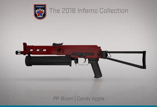 "Колекцията ""Inferno 2018"" — PP-Bison   Захаросана ябълка   Candy Apple"