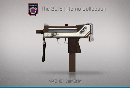 """Колекцията """"Inferno 2018"""" — MAC-10   Телешка кожа   Calf Skin"""