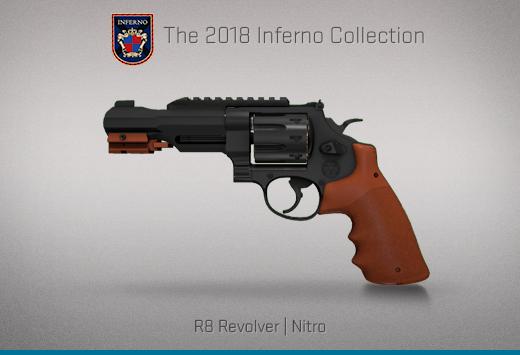 """Колекцията """"Inferno 2018"""" — Револвер R8   Нитро   Nitro"""