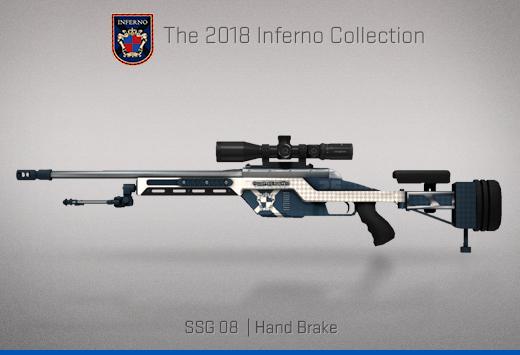 """Колекцията """"Inferno 2018"""" — SSG 08   Ръчна спирачка   Hand Brake"""