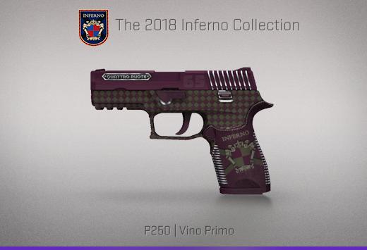 "Колекцията ""Inferno 2018"" — P250   Първокласно вино   Vino Primo"