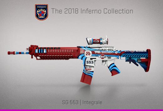 "Колекцията ""Inferno 2018"" — SG 553  Интеграл   Integrale"
