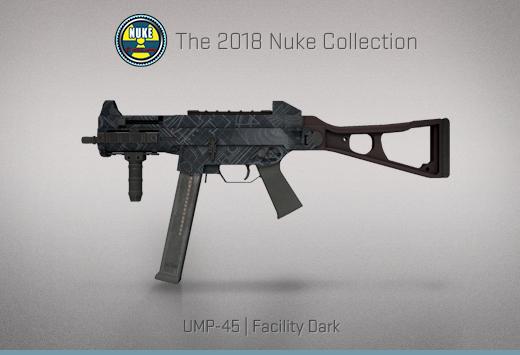 """Колекцията """"Nuke 2018"""" — UMP-45   Мрачно съоръжение   Facility Dark"""