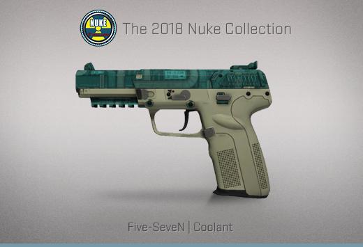"""Колекцията """"Nuke 2018"""" — Five-SeveN   Охладител   Coolant"""