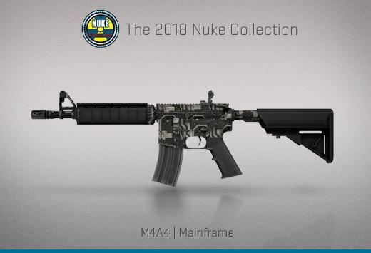 """Колекцията """"Nuke 2018"""" — M4A4   Мейнфрейм   Mainframe"""