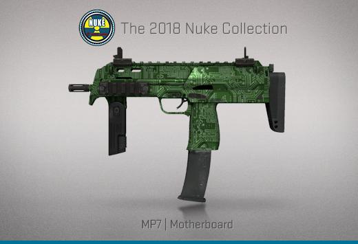 """Колекцията """"Nuke 2018"""" — MP7   Дънна платка   Motherboard"""