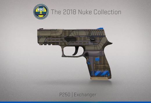 "Колекцията ""Nuke 2018"" — P250   Обменник   Exchanger"