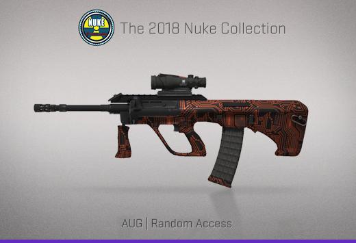 """Колекцията """"Nuke 2018"""" — AUG   Произволен достъп   Random Access"""