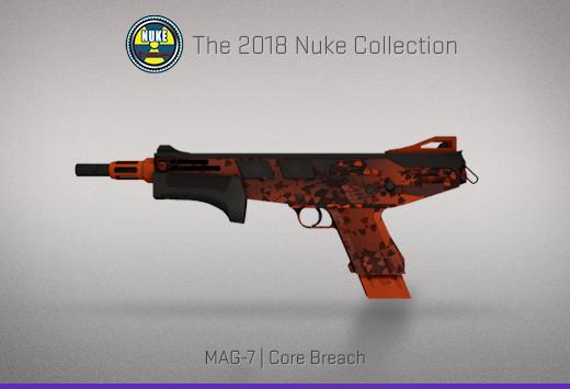 """Колекцията """"Nuke 2018"""" — MAG-7   Пробив в ядрото   Core Breach"""