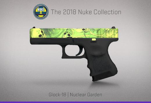 """Колекцията """"Nuke 2018"""" — Glock-18   Ядрена градина   Nuclear Garden"""