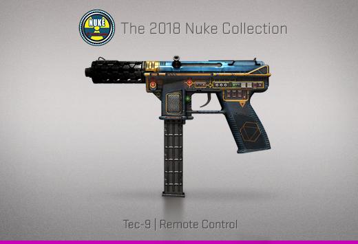 """Колекцията """"Nuke 2018"""" — Tec-9   Дистанционно управление   Remote Control"""