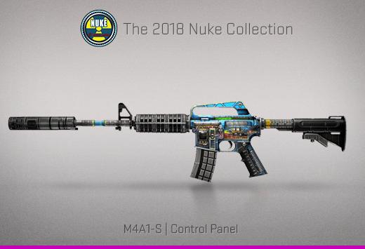 """Колекцията """"Nuke 2018"""" — M4A1-S   Контролен панел   Control Panel"""