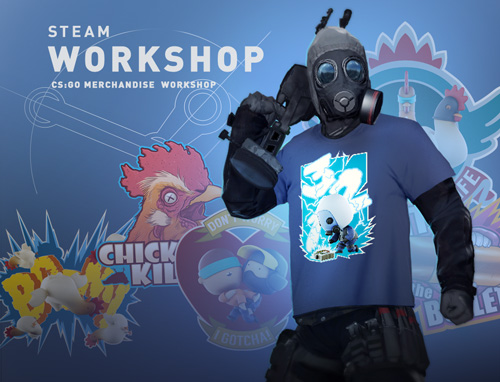 CS:GO работилница за рекламни стоки