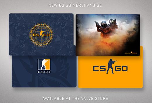 CS:GO подложки за мишки от Valve магазина