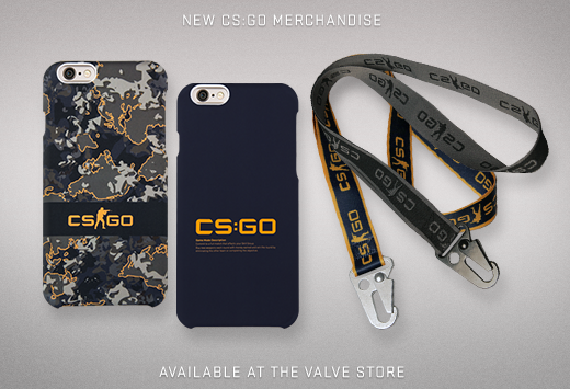 CS:GO калъфи за телефони и др. от Valve магазина