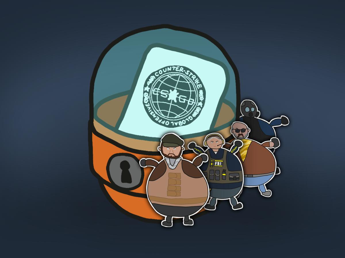 CS:GO — капсула със стикери