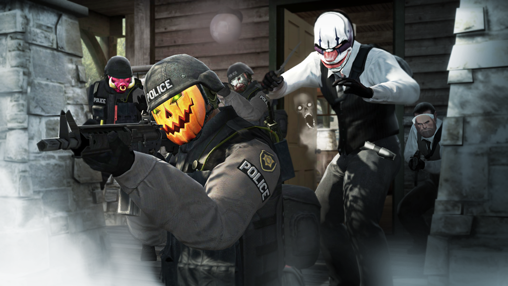 Counter Strike Global Offensive Halloween Mask Erade