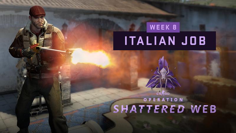 Italian Job – week 8 missions 1