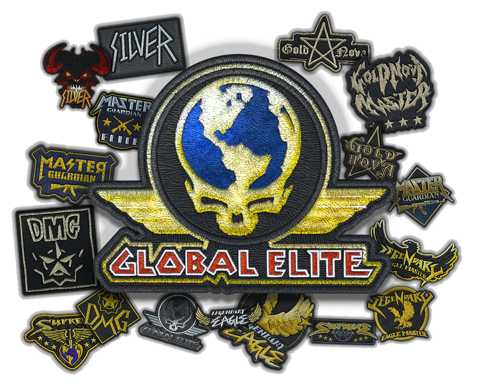 Metal Skill Group Patch Collection