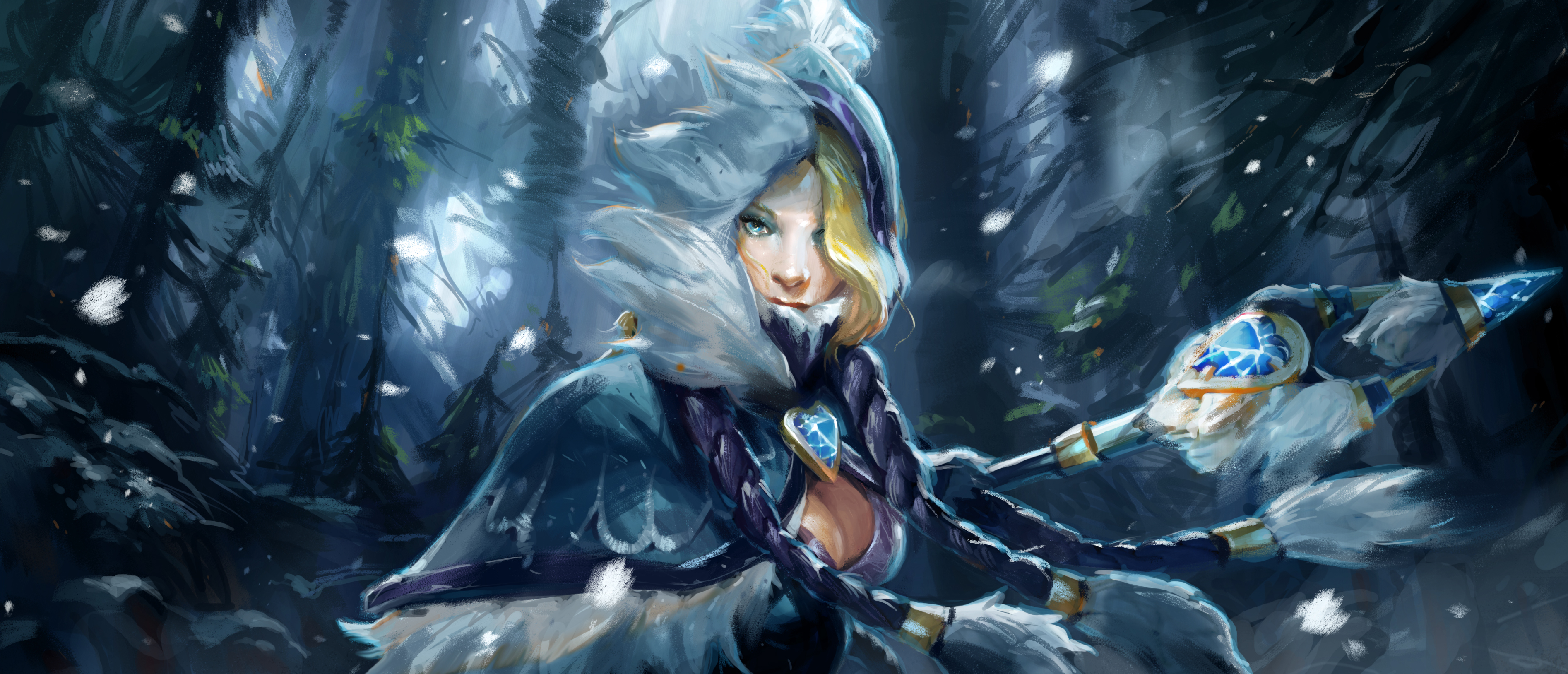 Anyone Can Make A Wallpaper Out Of The Frostivus Cm Banner Dota2