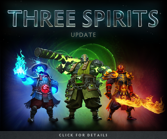 Three Spirits Update | Dota 2
