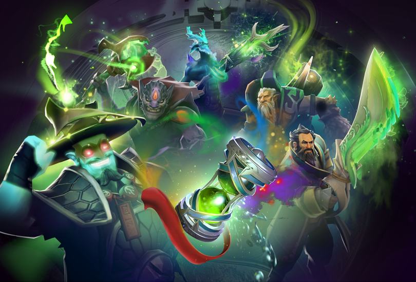 Dota 2 Immortal Items And Player Cards Released: Dota 2 On Steam