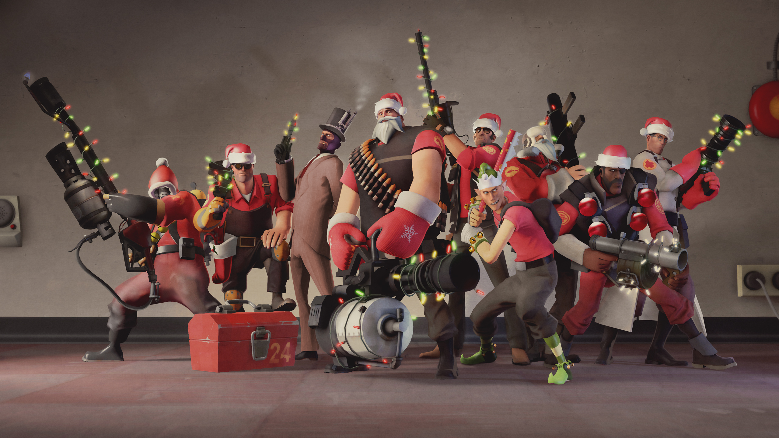 team fortress 2 meet them all russian characters