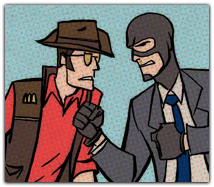 Team Fortress 2: Comics
