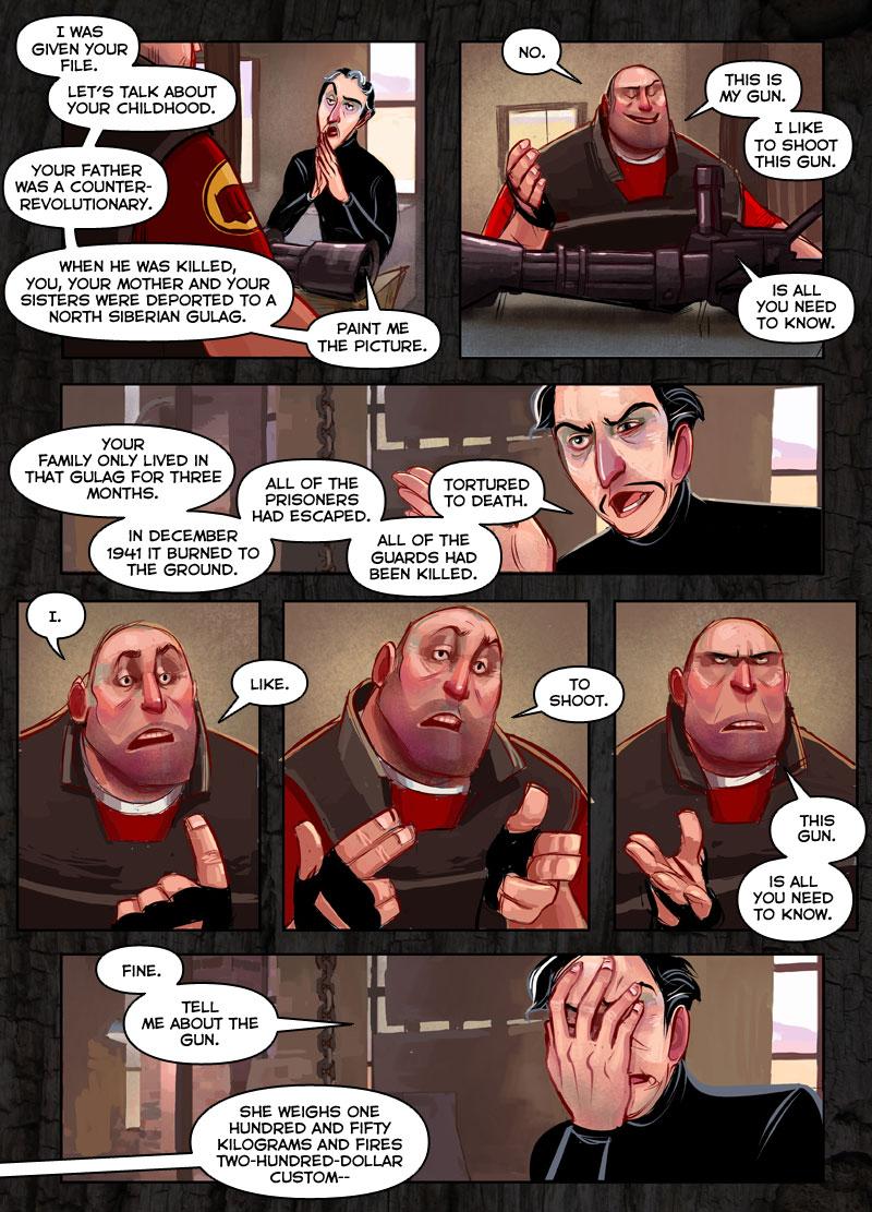 meet the director tf2 comic blood