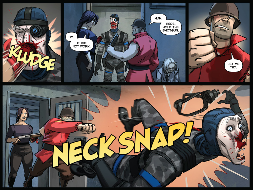 meet team fortress line them up and punch
