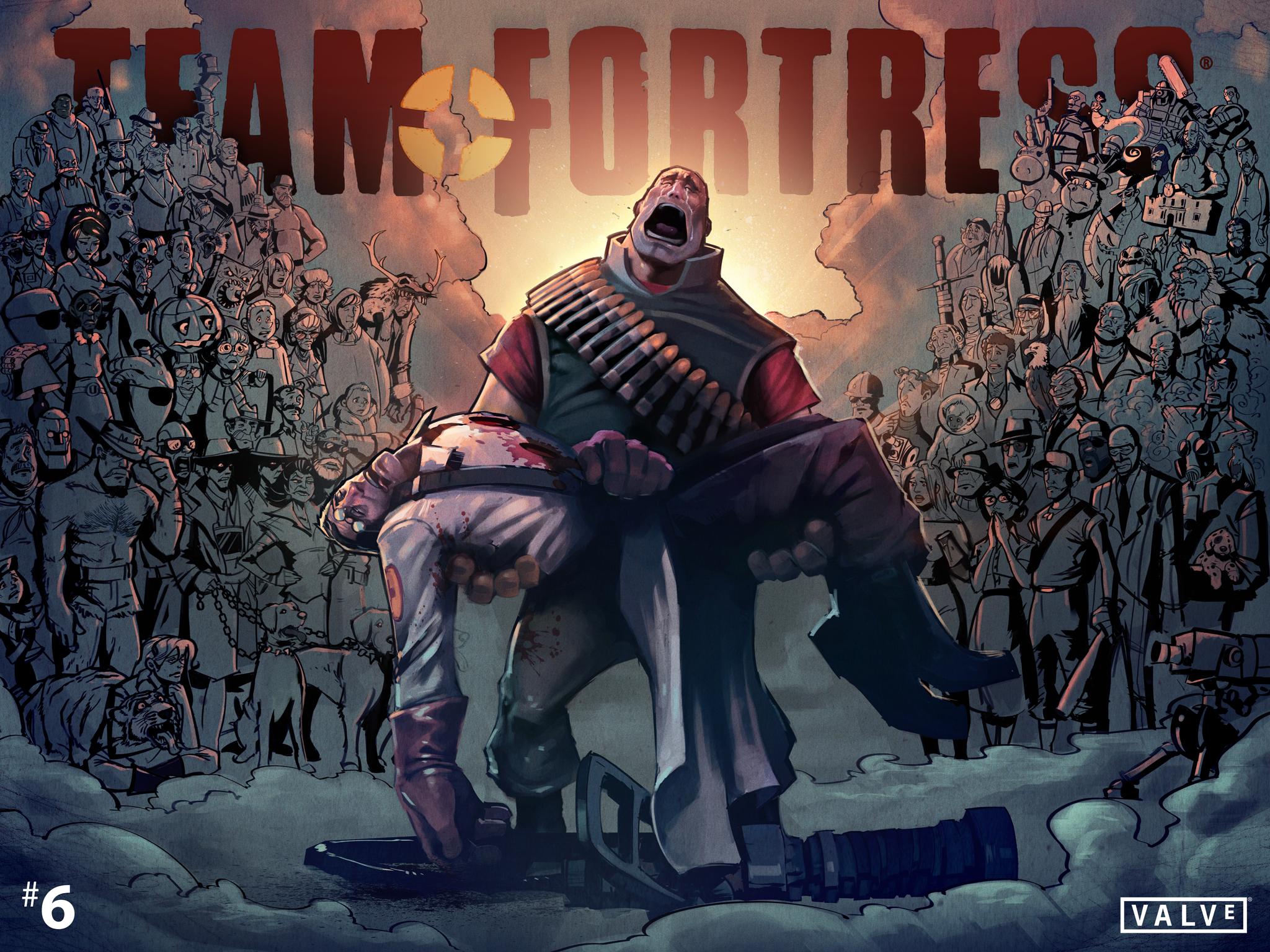 Team Fortress 2: Comics