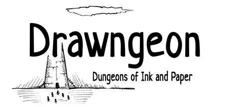 Drawngeon Dungeons of Ink and Paper Capa