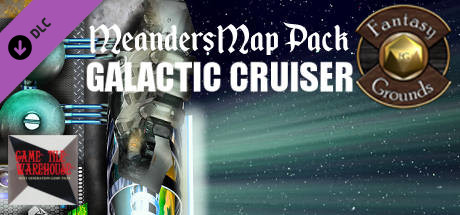 Fantasy Grounds - Meanders Map Pack: Galactic Cruiser (Map Pack)