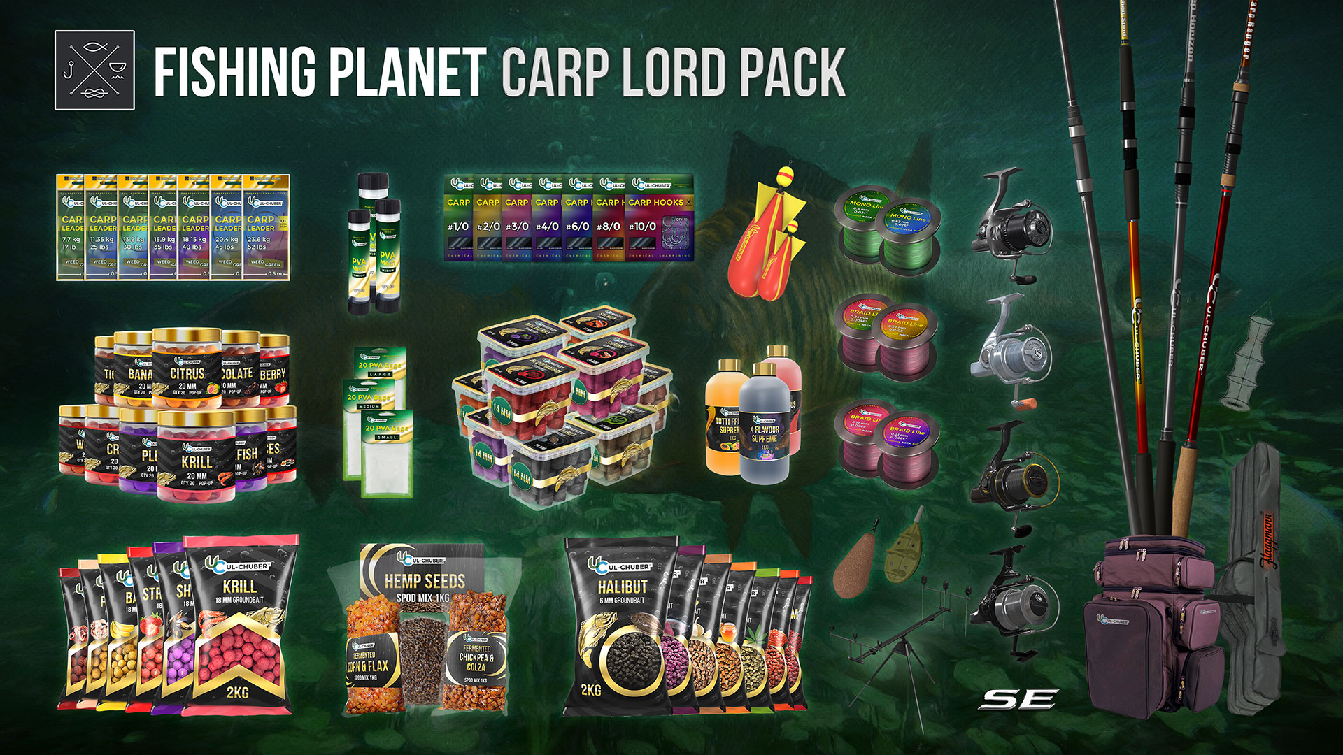 Fishing Planet: Carp Lord Pack