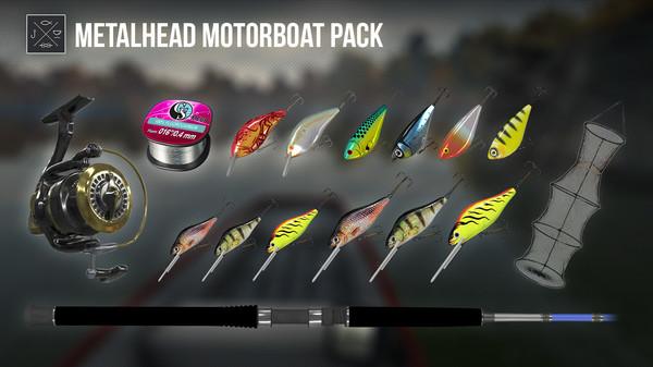 Fishing Planet: Metalhead Motorboat Pack (DLC)