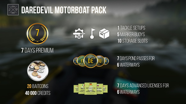 Fishing Planet: Daredevil Motorboat Pack (DLC)