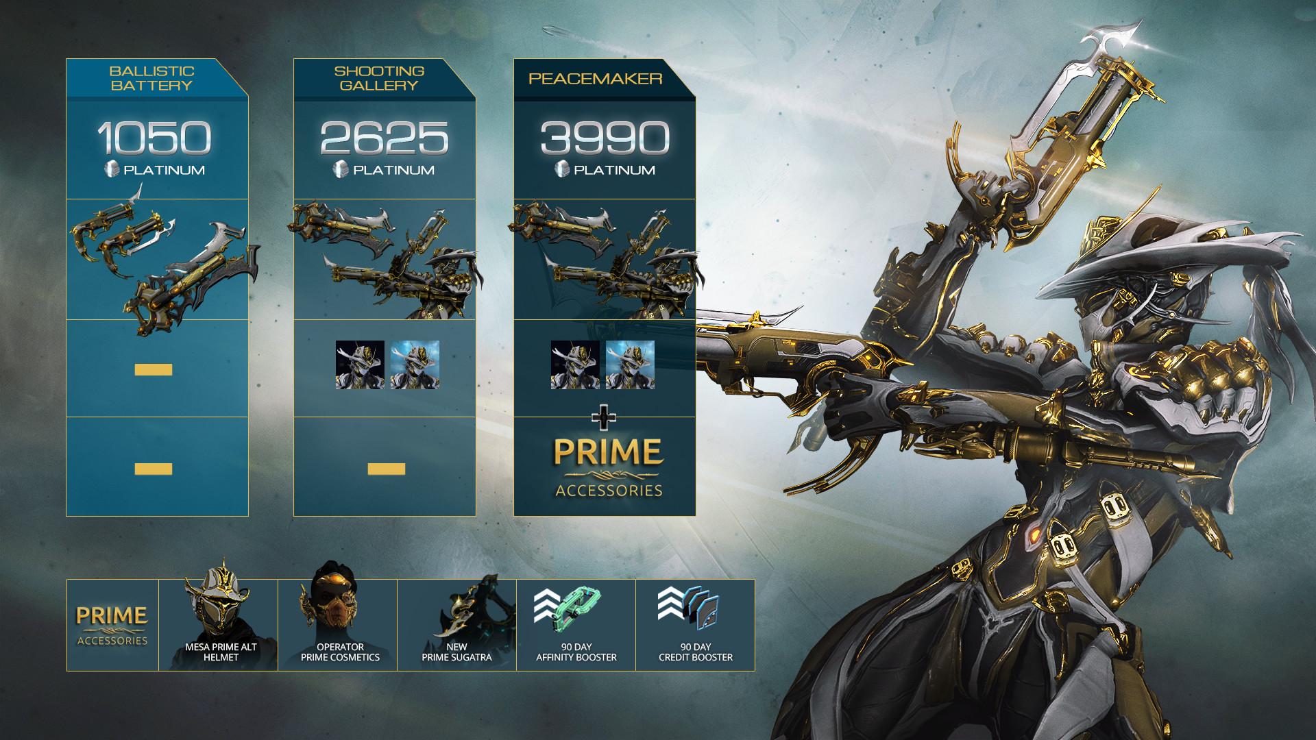 Warframe Equinox Prime Access: Metamorphosis Pack에 대한