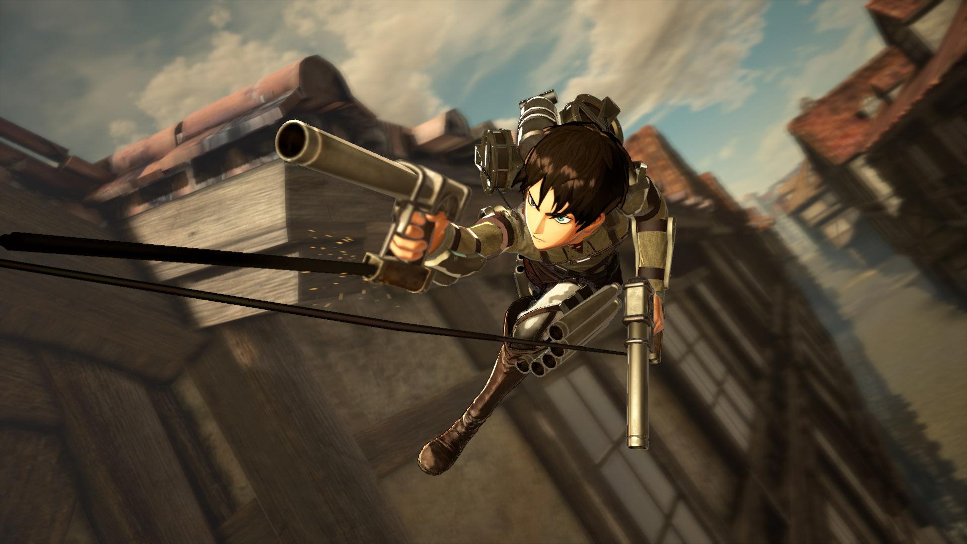 Скриншот Attack on Titan 2 Final Battle скачать торрент бесплатно