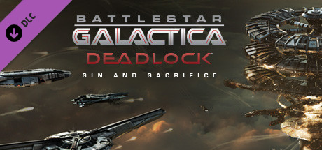 Battlestar Galactica Deadlock Sin and Sacrifice Capa