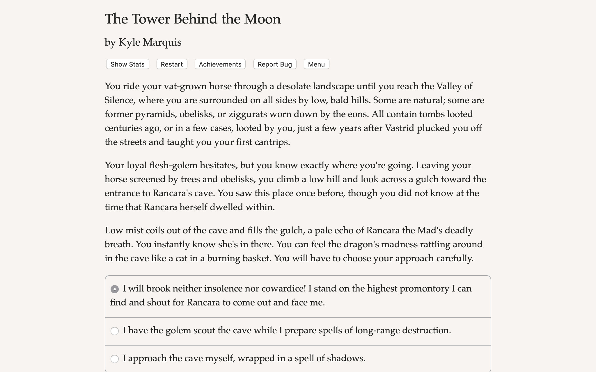 Tower Behind the Moon - What's On Steam