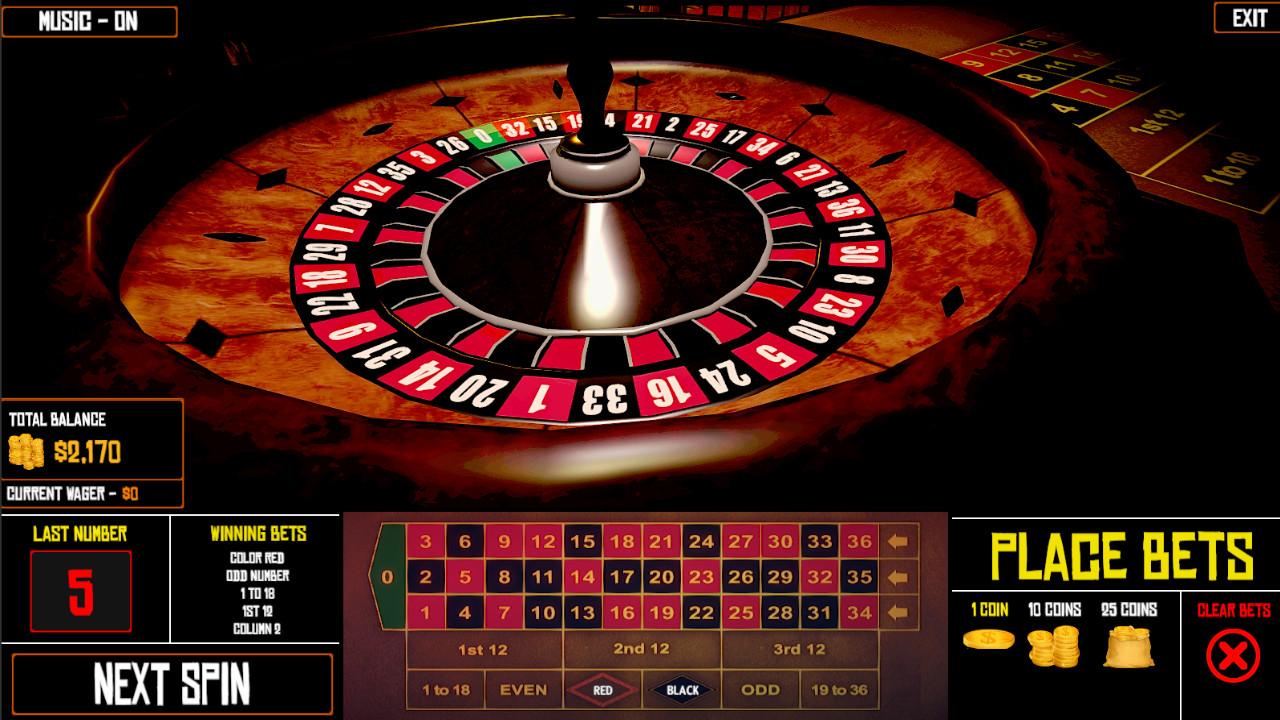 Roulette Simulation