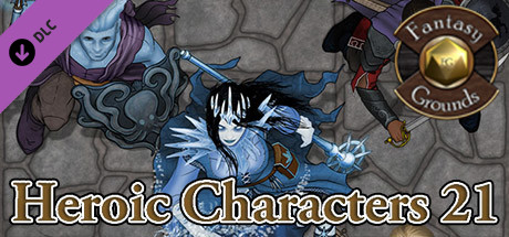 Fantasy Grounds - Devin Night Pack 109: Heroic Characters 21 (Token Pack)