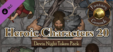 Fantasy Grounds - Devin Night Pack 108: Heroic Characters 22 (Token Pack)