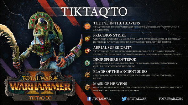 Total War: WARHAMMER II - Tiktaq'to (DLC)